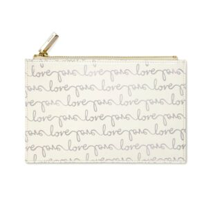 Love Script Bridal Pencil Pouch