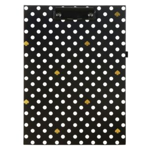Polka Dot Clipboard Folio