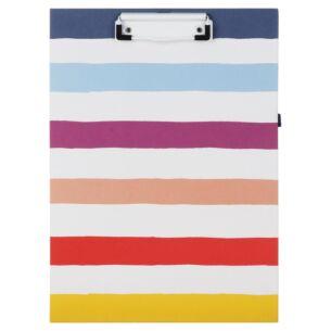 Candy Stripe Clipboard Folio