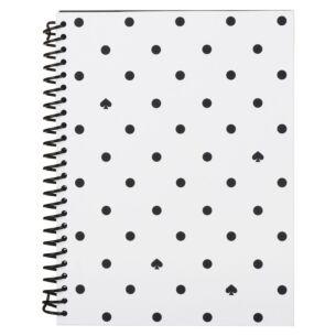 Black Spade Dot Small Spiral Notebook