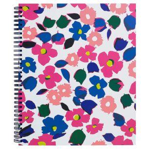 """Botanical Garden 11""""x 9.5"""" Spiral Notebook"""
