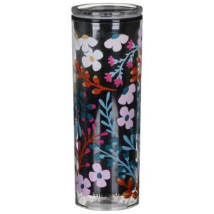 Fall Floral Acrylic Thermal Mug