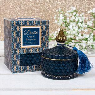 Desire Oud & Bergamot Soy Candle