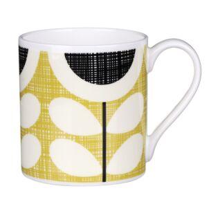 Yellow Scribble Sunflower Large Mug