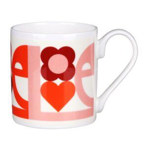 Pink 'Love' Standard Mug