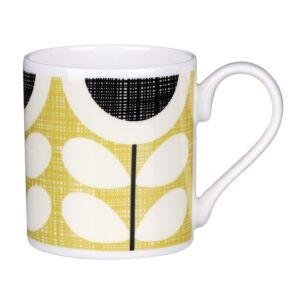 Yellow Scribble Sunflower Standard Mug
