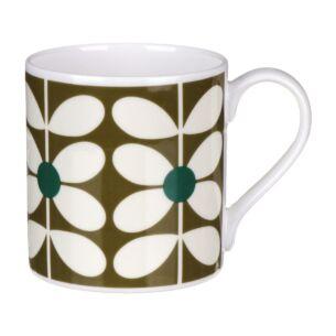 60's Stem Olive Large Mug