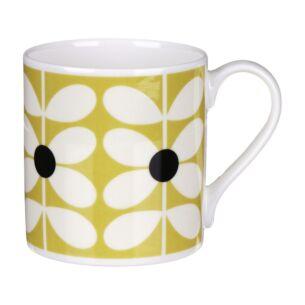60's Stem Ochre Large Mug
