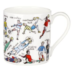 The Art Of Football Large Mug
