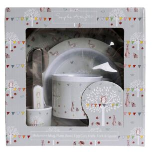 Woodland Party Children's Melamine Set