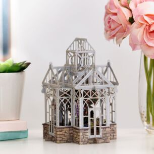 """The Glasshouse"" 3D Birthday Card"