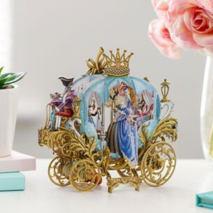 'Cinderella's Carriage' 3D Card
