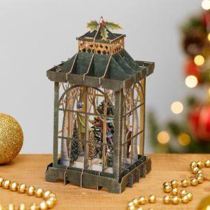 The Lantern 3D Christmas Card