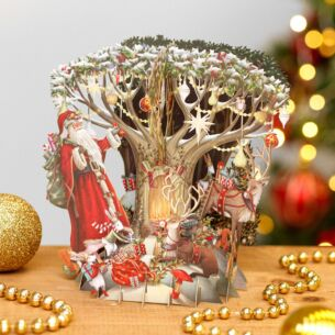 'Down in the Forest' 3D Christmas Card