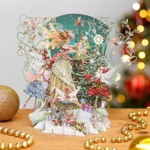 'Fairy Queen' 3D Christmas Card