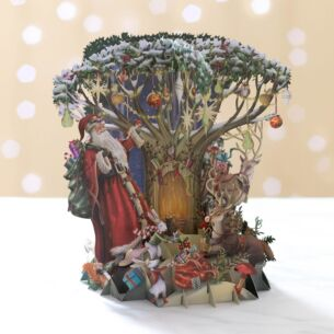 'Down in the Forest' Pop Up Christmas Card