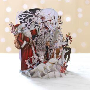 Me & McQ 'White Magic' Pop Up Christmas Card