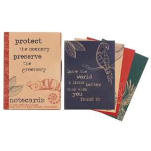 Milly Green Rainforest Set of 12 Notecards