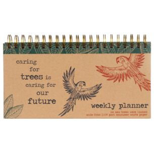 Milly Green Rainforest Weekly Planner