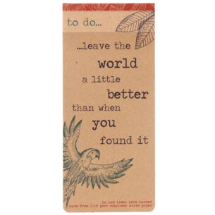Milly Green Rainforest 'To Do List' Notepad