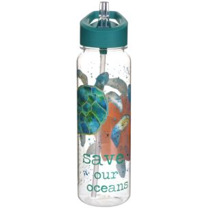 Turtle 750ml Cornstarch Water Bottle