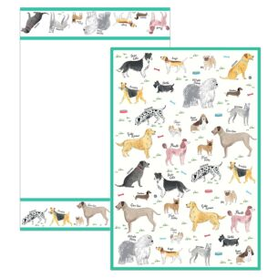 Debonair Dogs Set of 2 Tea Towels