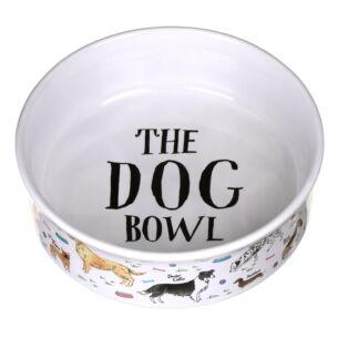 Debonair Dogs Large Dog Bowl