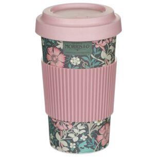 Morris & Co Pink Compton Large Travel Mug