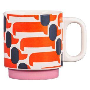 Dachshund Papaya Individual Mug