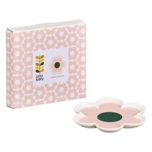 6 Petal Flower Pastel Pink Trinket Tray