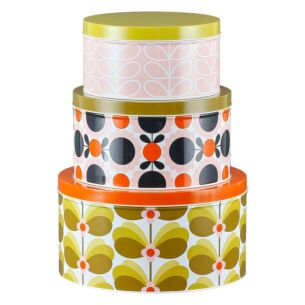 Butterfly Stem Set of 3 Nesting Cake Tins