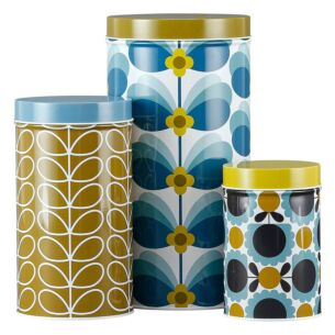 Butterfly Stem Set of 3 Nesting Canister Tins