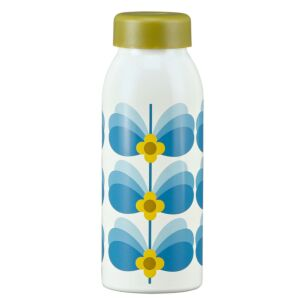 Butterfly Stem Sky Blue Insulated Bottle