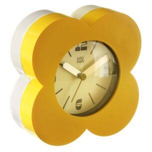 Orla Kiely Yellow Flower Spot Alarm Clock