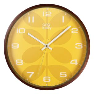 Mustard Wall Clock