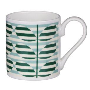 Green Stripe Stem Standard Mug