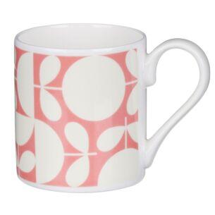 Pink Patchwork Print Standard Mug