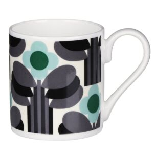 Green Art Deco Print Mug