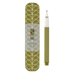 Linear Stem Seagrass Green Ballpoint Pen