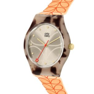Orange Linear Stem Bobby Watch