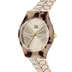 Cream Linear Stem Bobby Watch