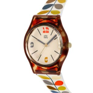 Tortoiseshell & Multi Stem Bobby Watch