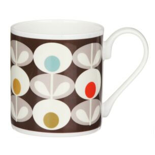 Multi Oval Flower Standard Mug