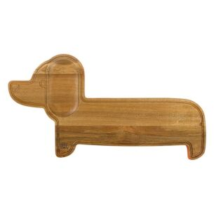 Dachshund Wooden Serving Board
