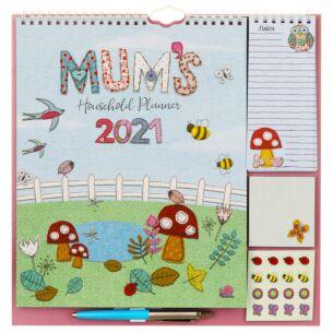 Mum's Fabric 2021 Family Wall Planner