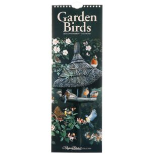Garden Birds By Pollyanna Pickering 2021 Slim Calendar
