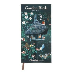 Garden Birds By Pollyanna Pickering 2021 Slim Diary