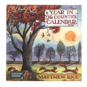 Matthew Rice A Year in the Country 2021 Wall Calendar