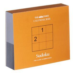 The Times Sudoku Boxed 2021 Calendar