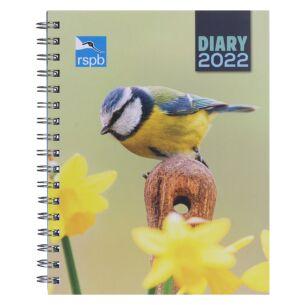 RSPB Deluxe 2022 Desk Diary